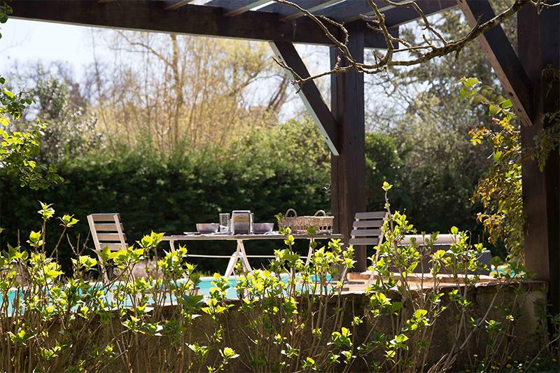 Chambres d'hôtes de charme avec piscine en Gironde près de La Réole entre deux mers Bordeaux Canal voie verte